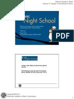 Night School 16 Session 8
