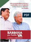 Propuestas Programaticas Miguel Barbosa Puebla 2018