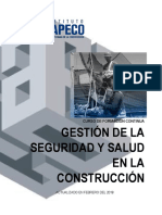 Gestión de La Seguridad y Salud en La Construcción