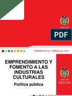 [PD] Presentaciones - Emprendimiento Cultural