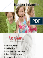 Consultation Infantiles