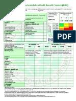 FISA BCR Evaluare Initiala Si Monitorizare Activa