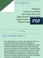 Exposicion Ruta Critica