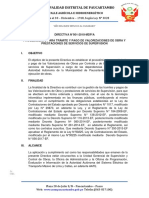 Directiva de Valorización
