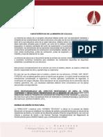 2 Caracteristicas Para Presentacion de Memorias de Calculo 2018