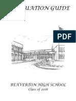 graduation guide 2018