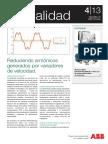 ABB - Reduciendo armónicos generados por variadores de velocidad.pdf