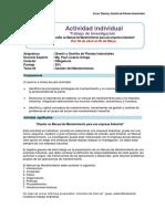 Actividad Individual y Rubrica DGPI 2018 I