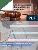 Les Droits Des Associés Maroua