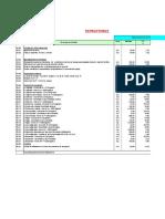 Presupuesto de Obra