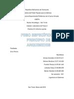 Informe Oyente (Peso Especifico y Principio de Arquimedes)
