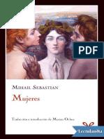 Mujeres - Mihail Sebastian
