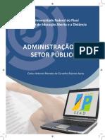 Administração No Setor Público - EAD - DIAG
