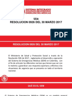 Sem Resolucion 0926