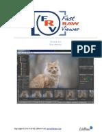 FastRawViewer Manual