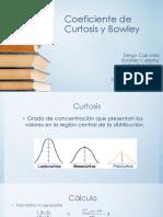 Coeficiente de Curtosis y Bowley[449]