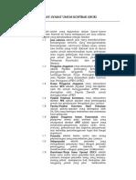 Syarat-Syarat Umum Kontrak RSMM