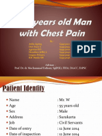 A 55 Years Old Man With Chest Pain