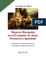Mujeres Discípulas en El Evangelio de Juan