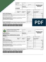 Taxa de Análise