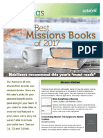 Best Missions Books 2017