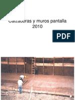 Calzaduras y Mur0os Pantalla 2010
