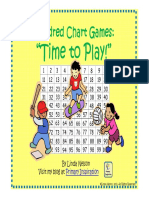 Hundred Chart Games Time to Play
