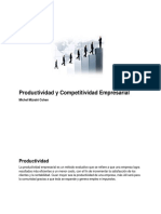 Productividad y Competitividad Empresarial - Michel Mizrahi Cohen