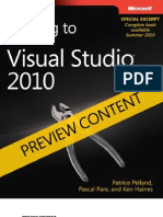 DRAFT Preview - Moving to Microsoft Visual Studio 2010 (VS2005)