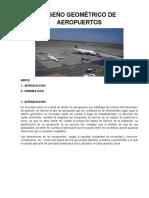 Diseño Geometrico de Aeropuertos 1 y 2