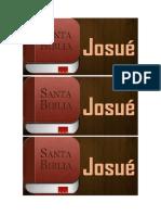 El Libro de Josué Recibe El