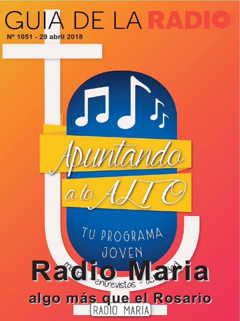 Revista Guía de La Radio No 1051 29 de Abril 2018
