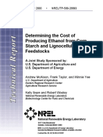 2000_McAloon_Determining Determining the cost of Producing EthanolfromCornStarchandLignocellulosicFeedstocks.pdf