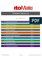 AutoMate Training Modules