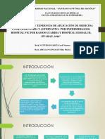 Conocimiento y tendencia de aplicación de la medicina complementaria y alternativa