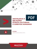 2018 Sociologia e Relações Etnico Culturais e Dir Humanos