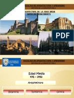 1 Arq Edad Media - Antes Del Renacimiento - Copia