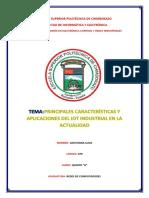 Aplicaciones de La Iot Industrial