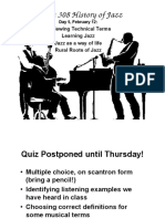 Day 5 Learning Jazz - Roots.ppt