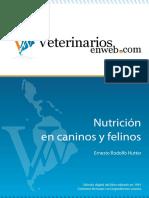 Nutricion en Felinos y Caninos