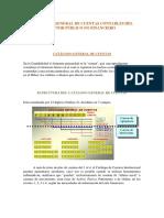 GUBER Catalogo de Cuentas