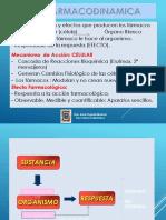 2015 DORIS UIGV Farmacología I Clase II