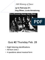 Day 8 Early Jazz .Ppt