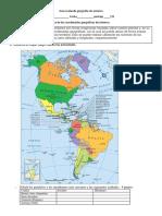 Guía Evaluada Geografía de América