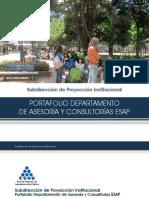 (Check) Ejemplo de Portafolio de Servicios (II)