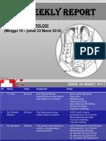 Weekly Report Bagian Urologi
