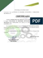 Certificado -