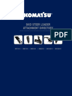 Skid Steer Loader Attachment Directory