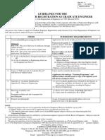 Graduate Engineer Guidelines