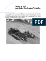 Historia Del Escarabajo Kubelwagen Variantes de Guerra